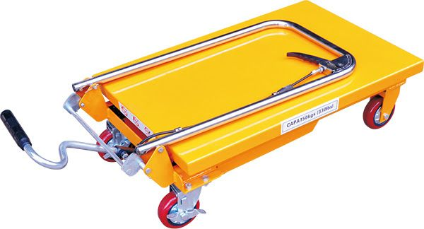 Nueva mesa-carro hidráulica