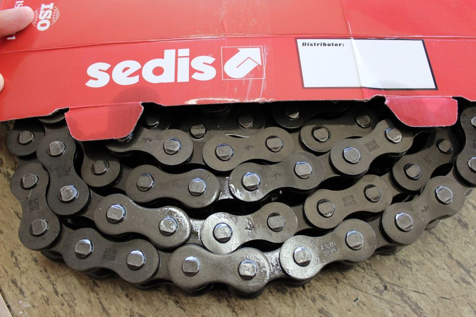 Incorporación de cadena SEDIS