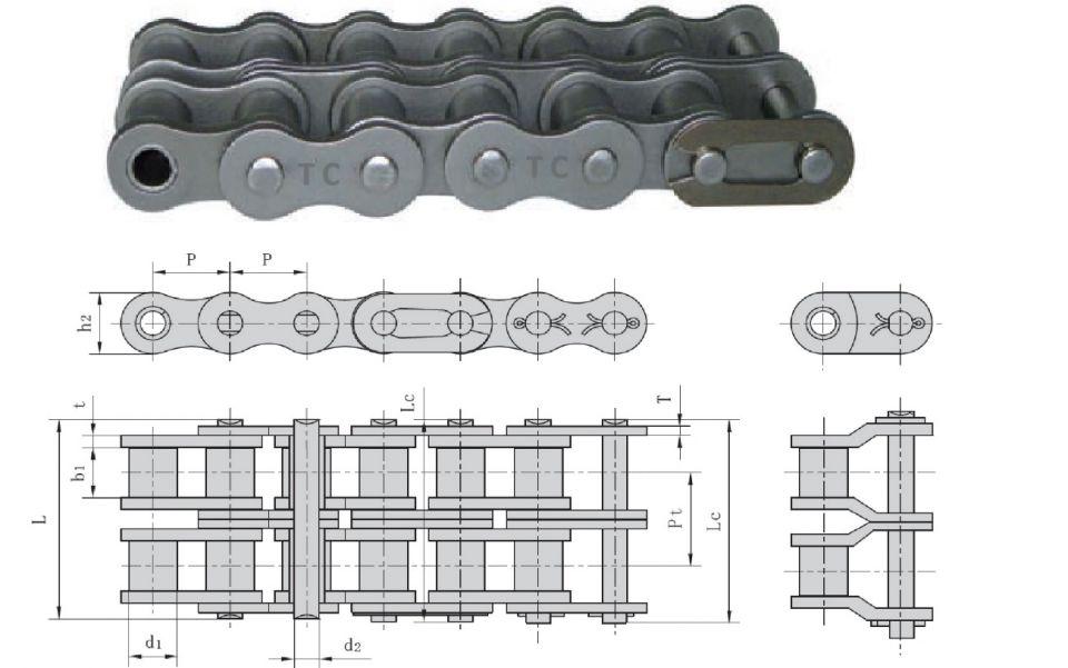 Fabricación a medida de cadenas de rodillos