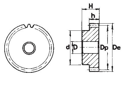 Fabricación a medida de piñones de módulo